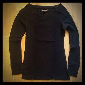 ON waffle knit shirt